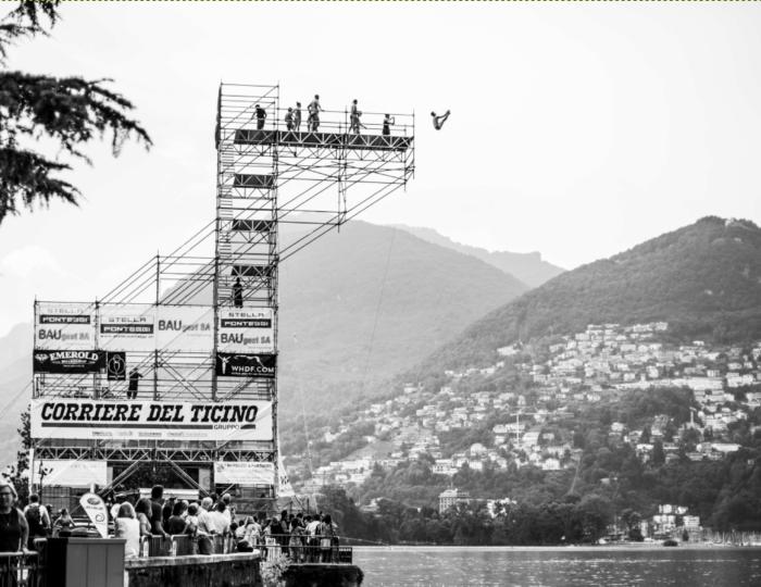 Edimen Lugano Cliff Diving 2019