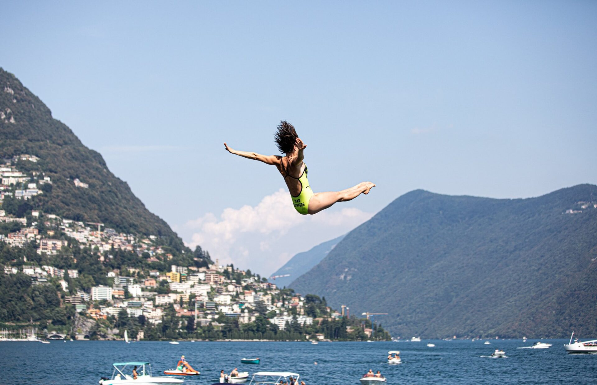 Lugano Cliff Diving 2020