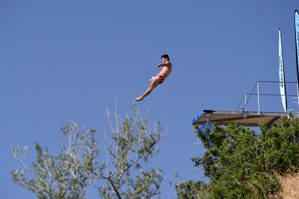 Jan Wermelinger (SUI), Agios Nikolaos Cliff Diving Competition 2017