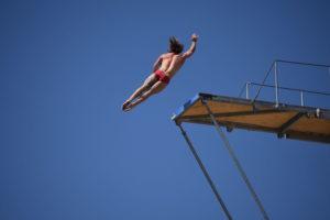Matthias Appenzeller (SUI), Agios Nikolaos Cliff Diving Competition 2018