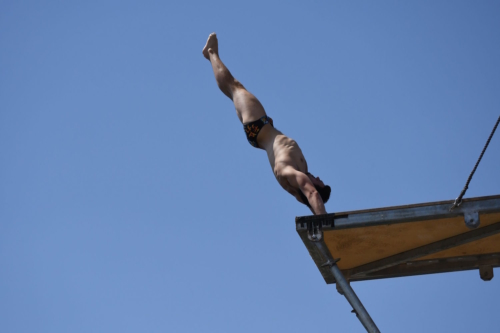 Manuel Halbisch (GER), Agios Nikolaos Cliff Diving Competition 2018