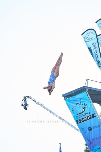 Xantheia Pennisi (AUS), Agios Nikolaos Cliff Diving Competition 2019