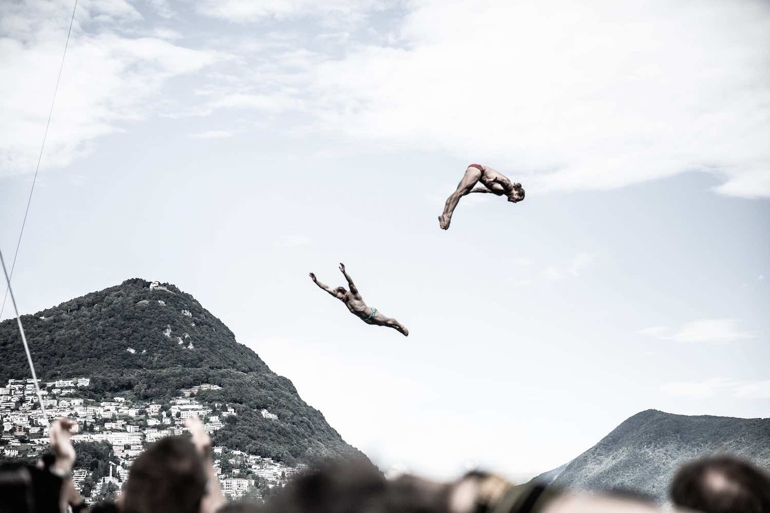 Synchronized High Diving, Lugano Cliff Diving 2018