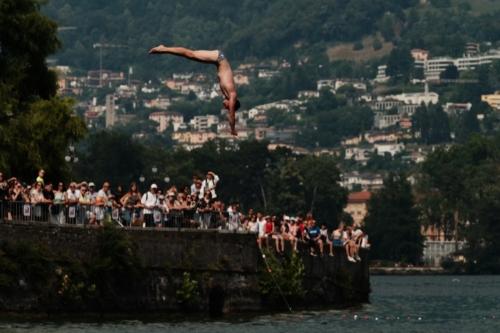 Tim Thesing (GER), Edimen Lugano Cliff Diving 2019