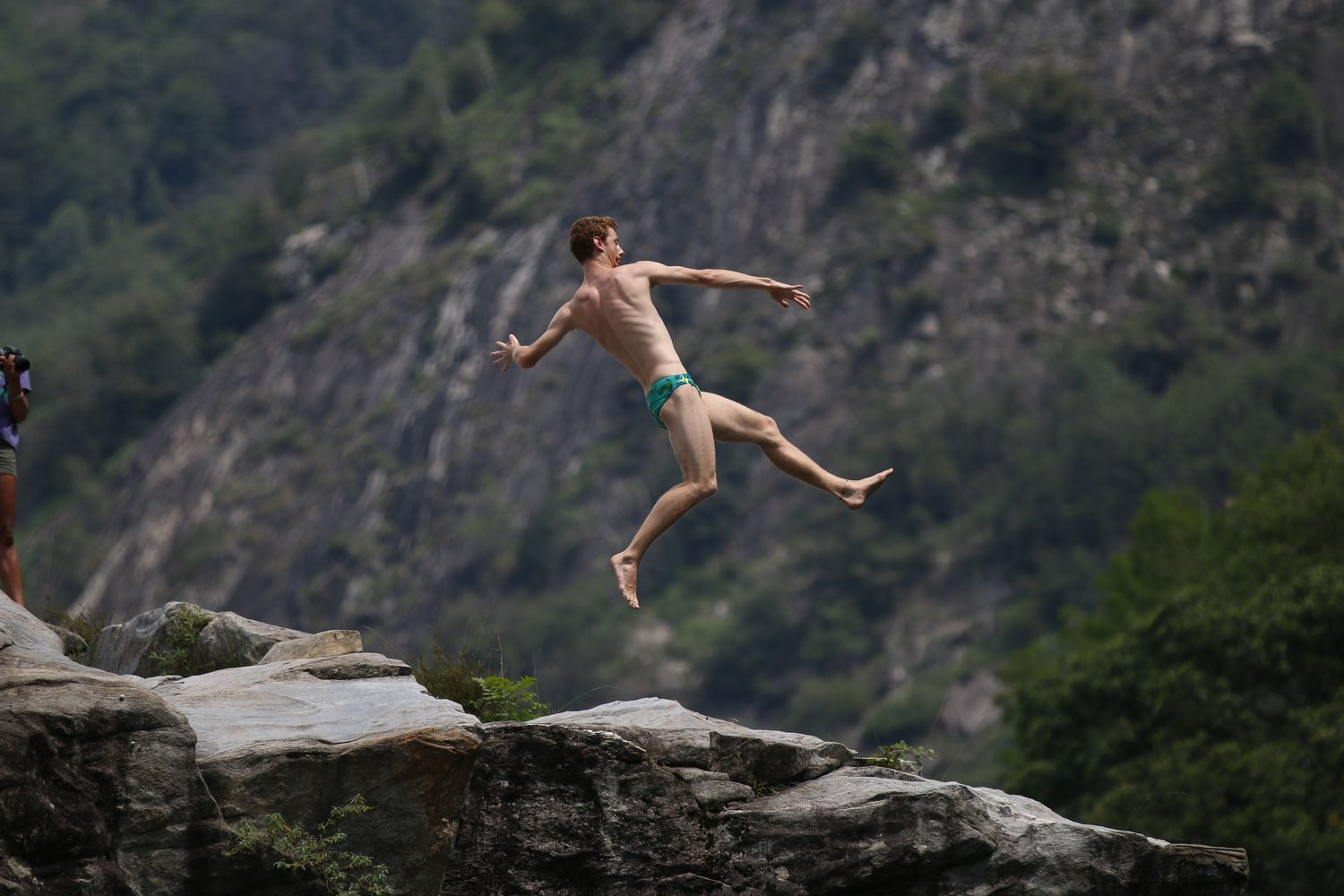 Liam Atkins (AUS), International Cliff Diving Championship 2017