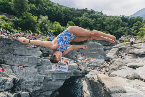 Genevieve Bradley (USA), International Cliff Diving Competition 2019