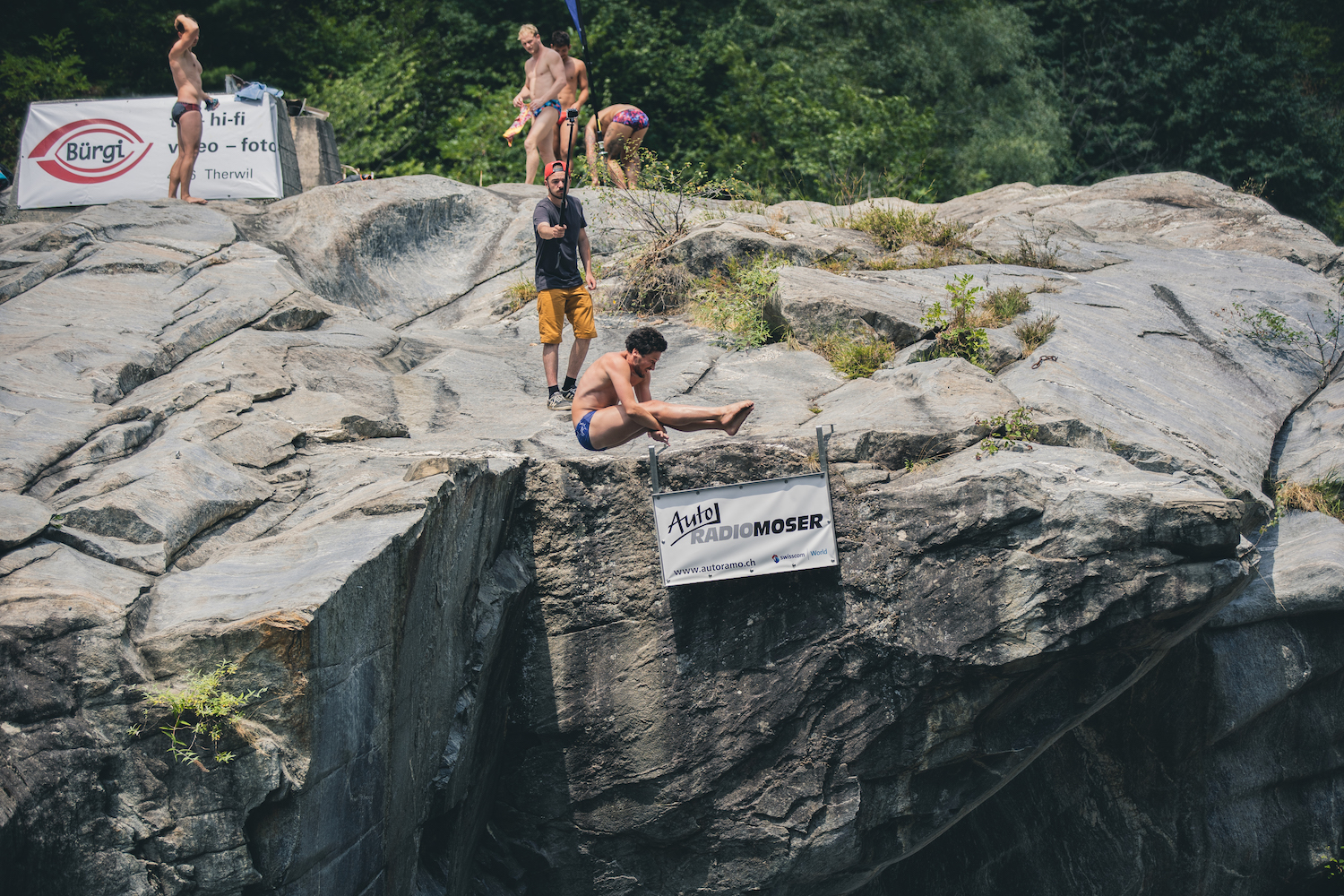 Jean-David Duval (SUI), International Cliff Diving Championship 2019