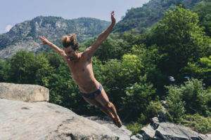 Andreas Hulliger (SUI), International Cliff Diving Competition 2019