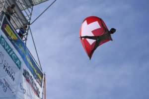 Lasaro Schaller (SUI / BRA), High Diving Thun 2018