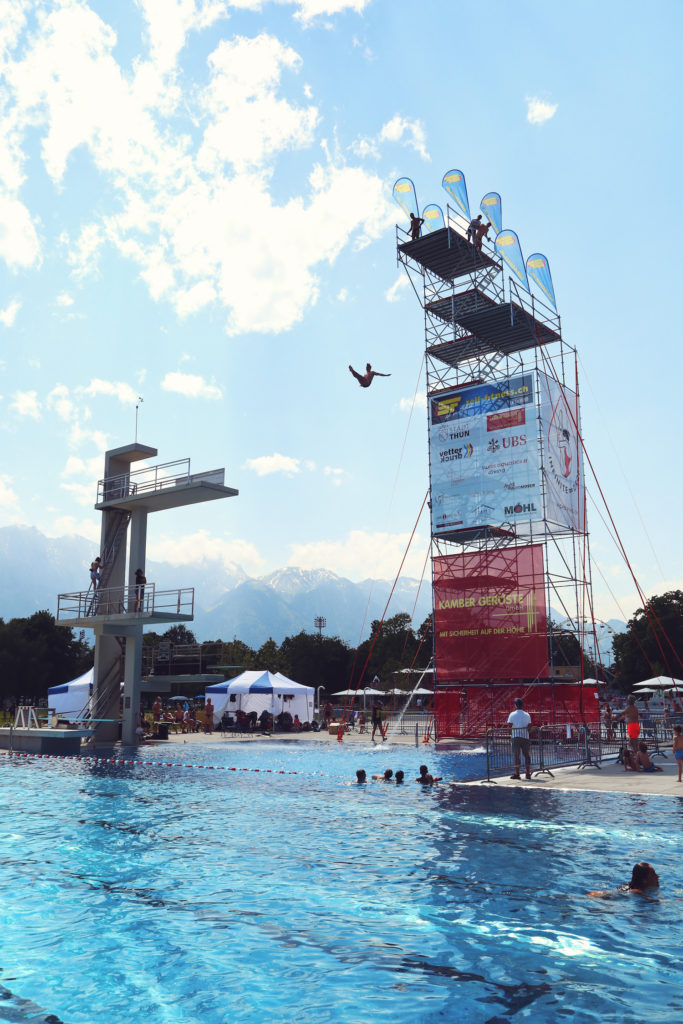 Martin Bollier (SUI), Swiss Open High Diving Championship 2019