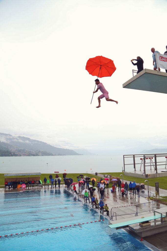 Clown Show, Swiss Open High Diving Championship 2019