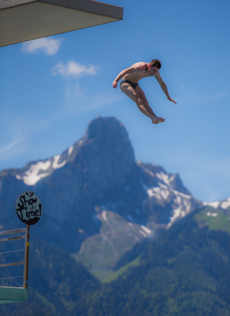 Manuel Lindner (GER), Swiss Open High Diving Championship 2019