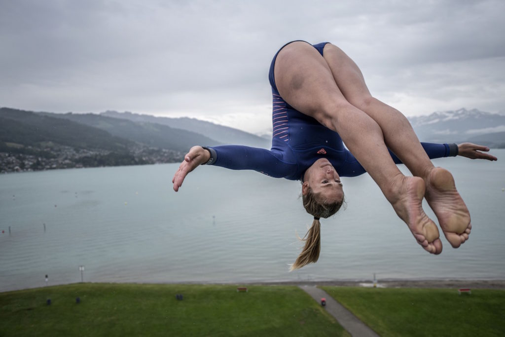 Genevieve Bradley (USA), Swiss Open High Diving Championship 2019