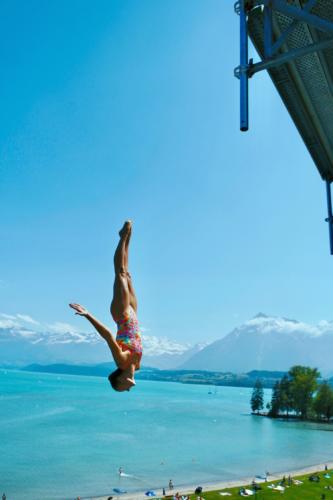 Jessica Macaulay (GBR), Swiss Open High Diving Championship 2019