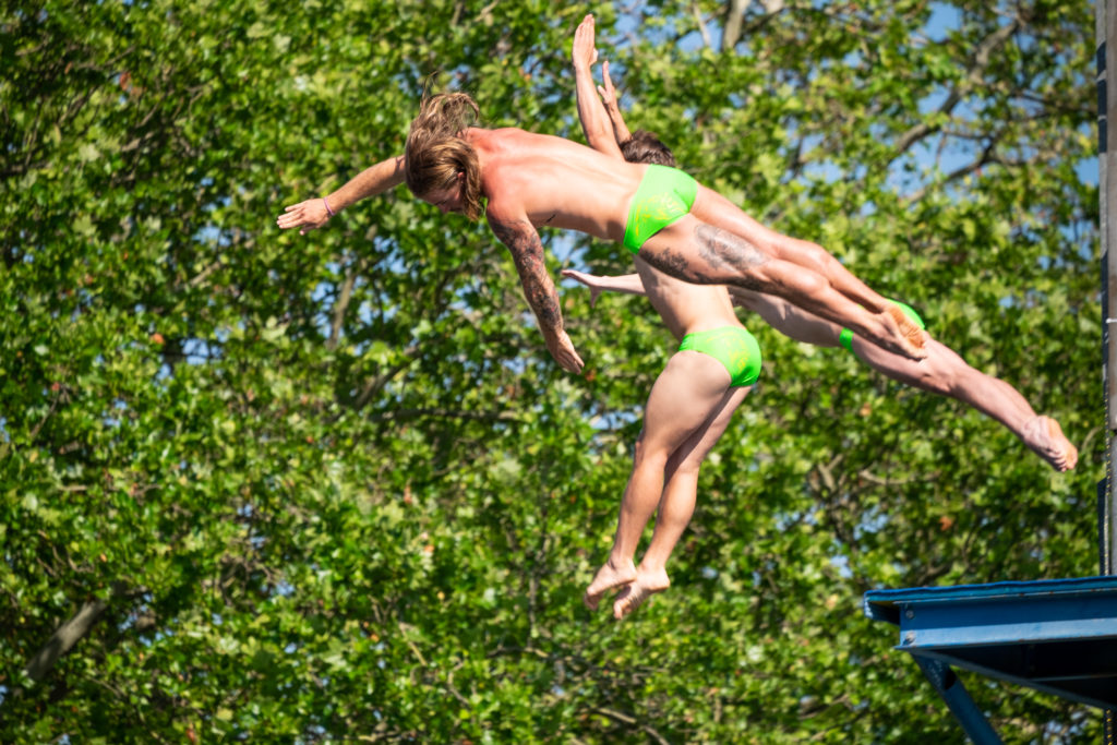 Synchronized High Diving, Züri Fäscht 2019