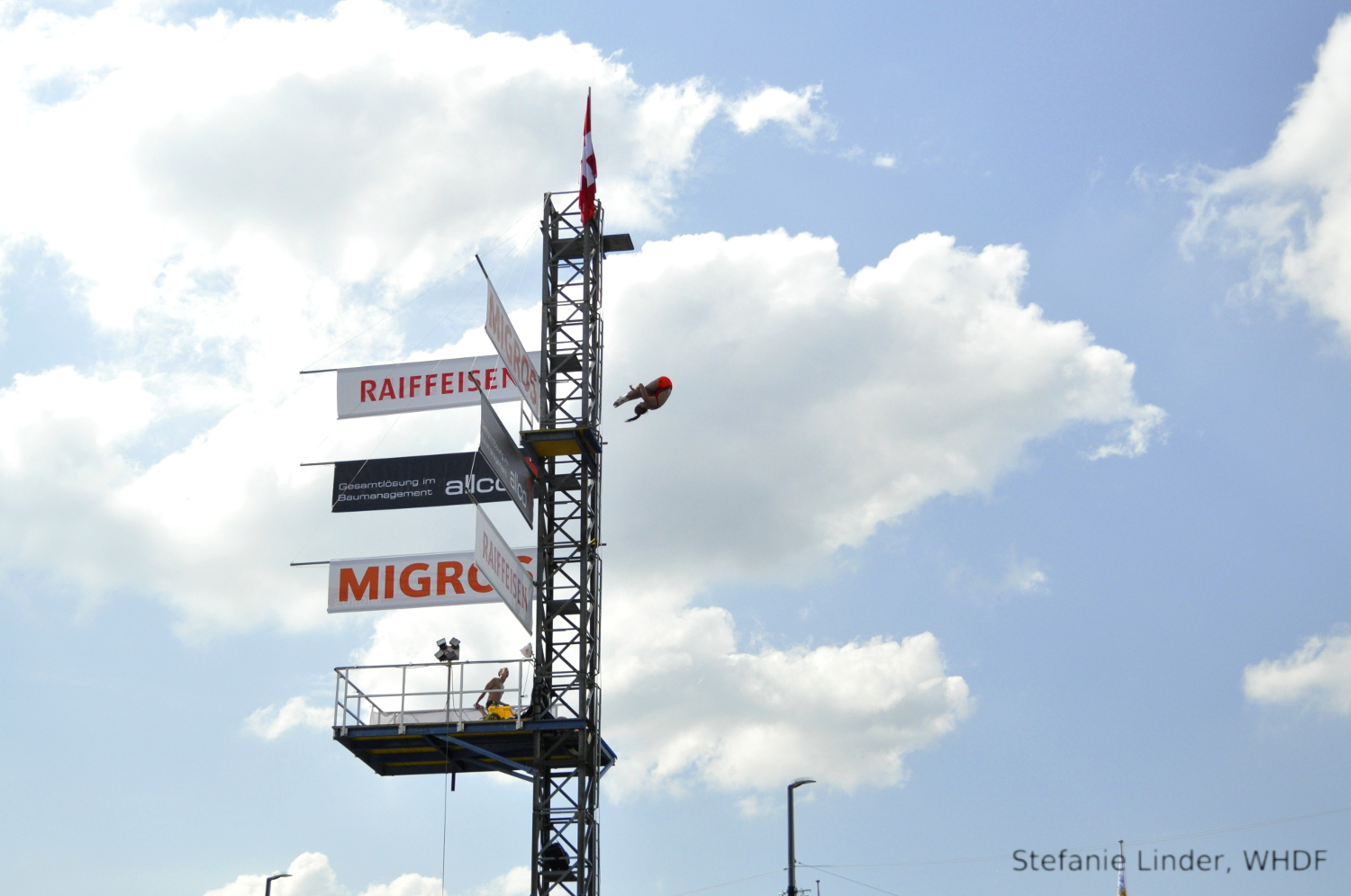 High Diving Show at Bellevue – Züri Fäscht 2019