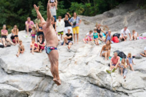 Alain Lobet (FRA), International Cliff Diving Championship 2021