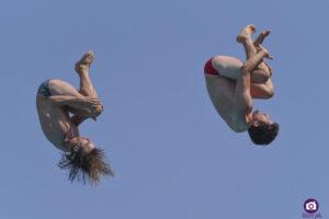 Andreas Hulliger (SUI) and Jean-David Duval (SUI), Lugano Diving Shows 2021