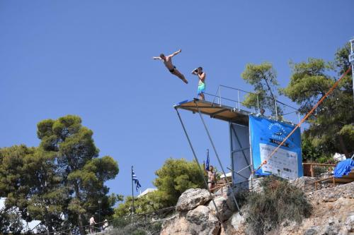 Agios Nikolaos Cliff Diving Competition 2018