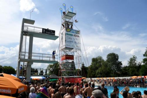 High Diving Show Thun 2018