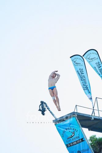 Agios Nikolaos Cliff Diving 2019